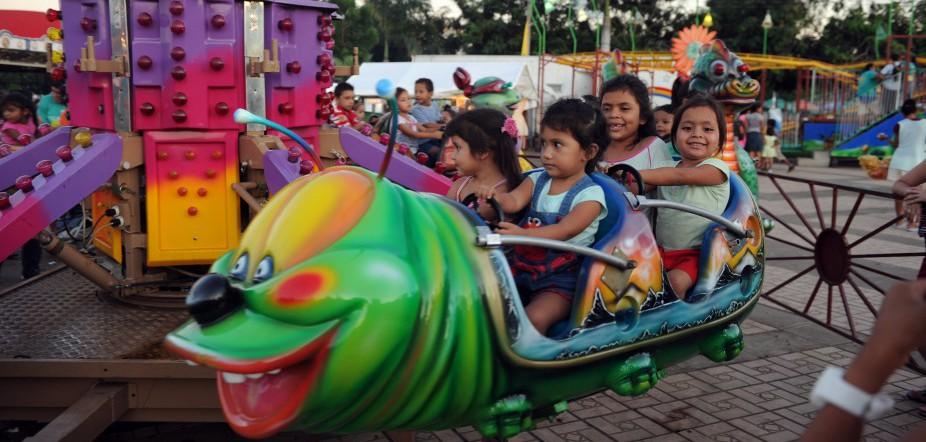 Nicaraguan Children Play
