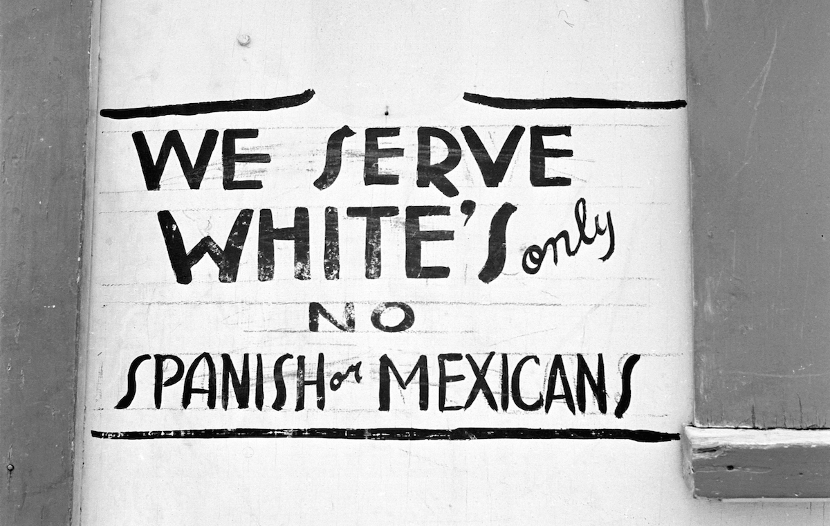 Image result for segregation signs pics
