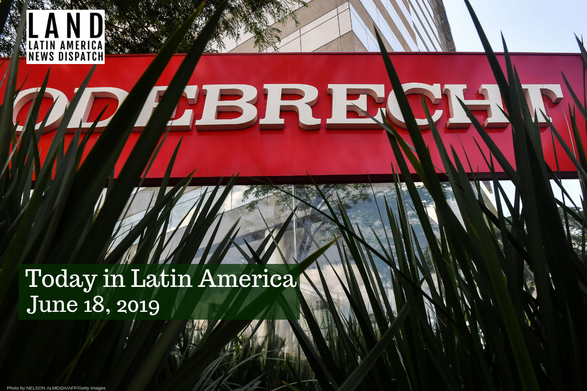 Brazilian Construction Giant Odebrecht Files For Bankruptcy