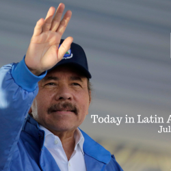 Ortega Commemorates 40 Years Since Revolution Amid Political Stalemate