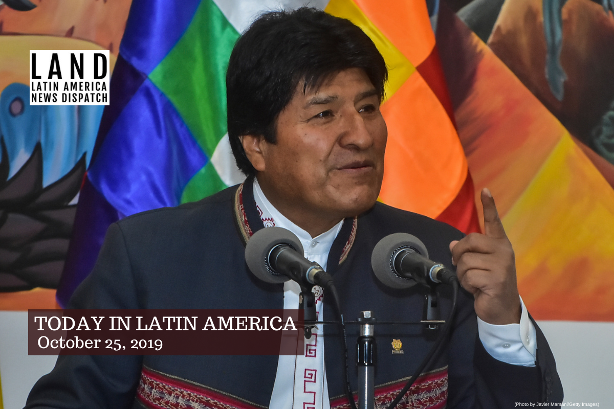 Bolivia Electoral Court Confirms Evo Morales Victory in Presidential Election