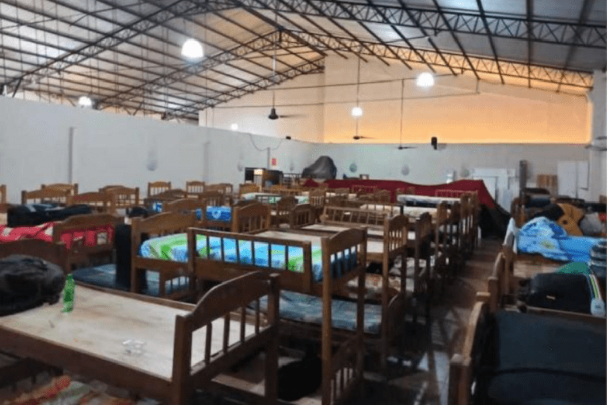 Inside Paraguay's Coronavirus Shelters - Latino USA